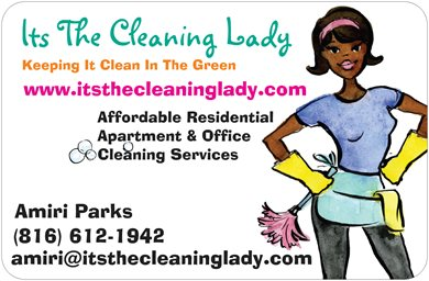 cleaning lady ads examples